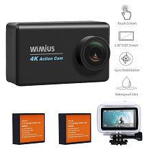 "4k Action Camera Touchscreen, WiMiUS L3 Underwater Sports Action Camera 2.45"" LCD Wifi Ultra HD Helmet Camera Sony Sensor IMX078 w"