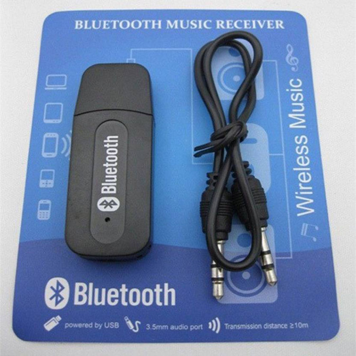 Car Bluetooth Receiver (USB) - Pair with Car Stereo, Music System ...