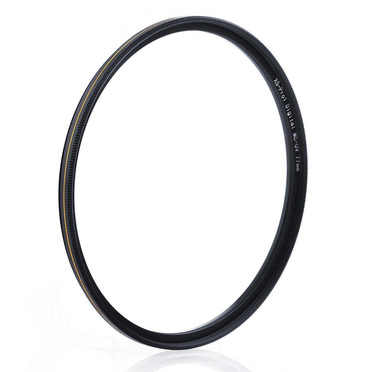 Ultra Slim 16 Layers Multi Coated Ultraviolet Protection Lens Filter for Canon Nikon Sony DSLR Camera Lens waka 55mm MC UV Filter