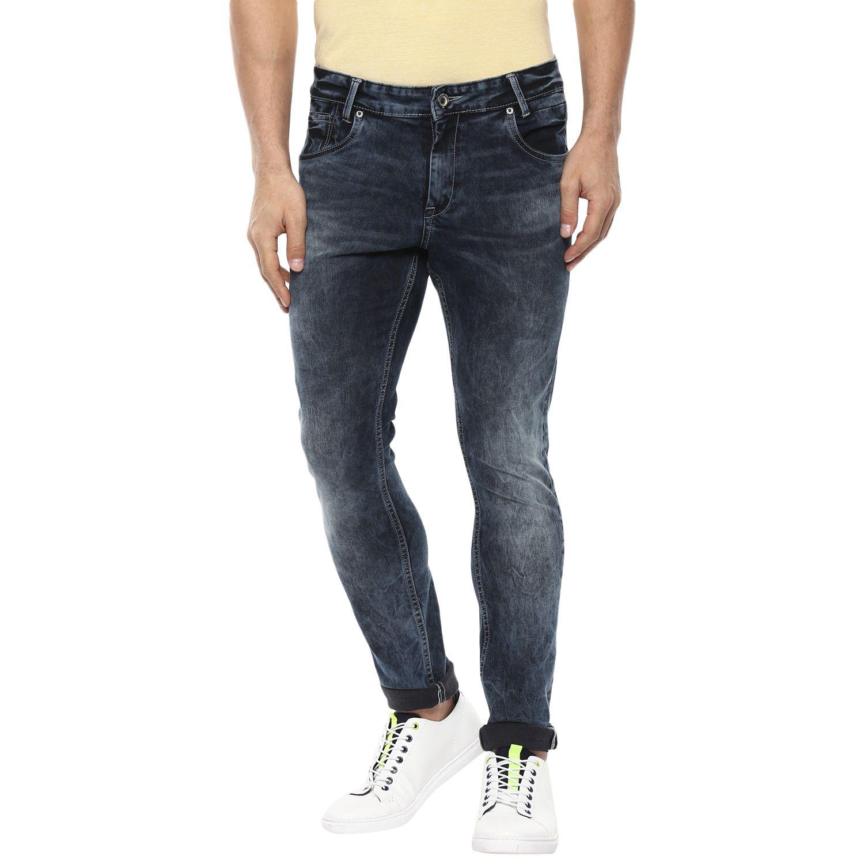 Mufti Black Skinny Jeans
