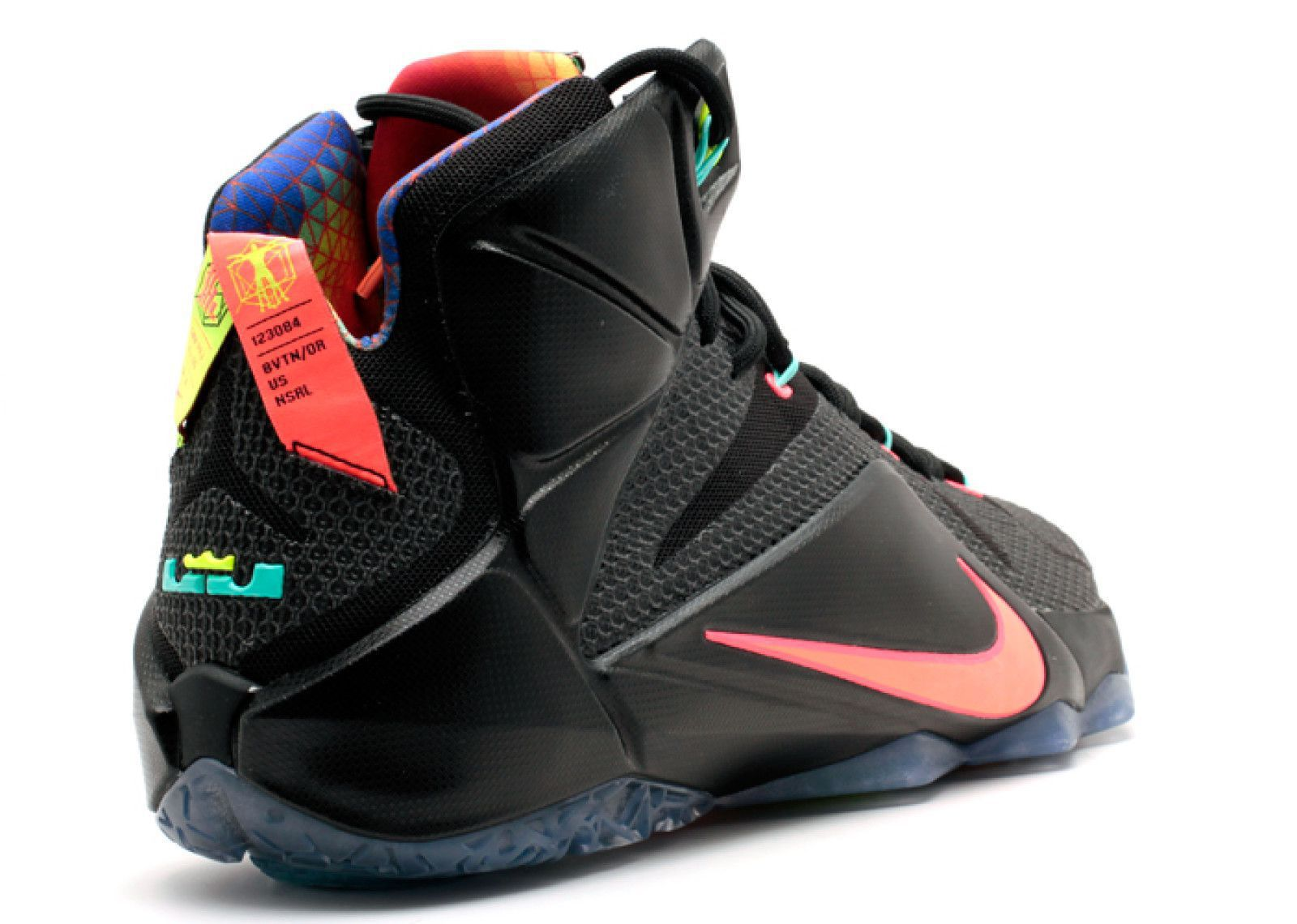 best loved 218f6 2ecc7 Nike Lebron 12 MNG Fashion Black Basketball Shoes