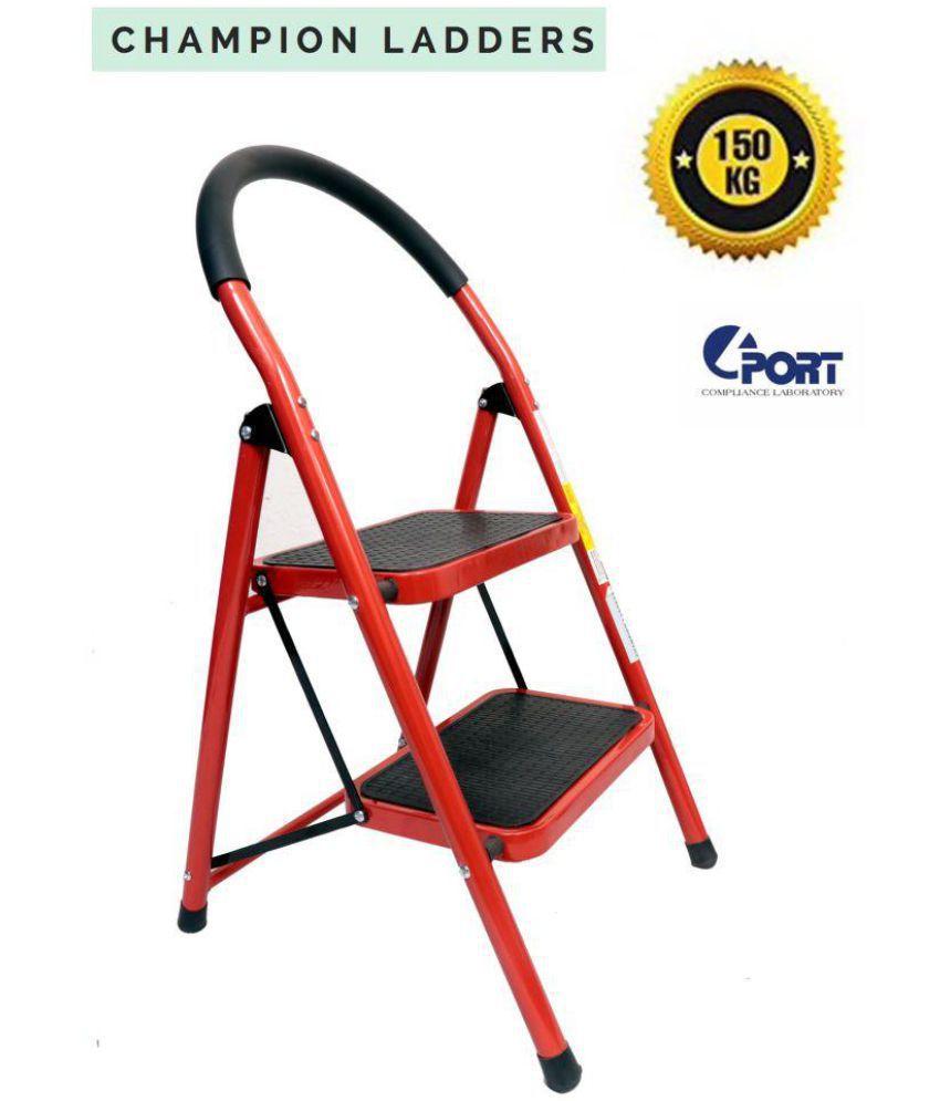 Champion 2 Step Red Stool Ladder: Buy Champion 2 Step Red