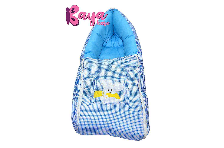 Kayakare Blue Cotton Sleeping Bags ( 43 cm × 15 cm)