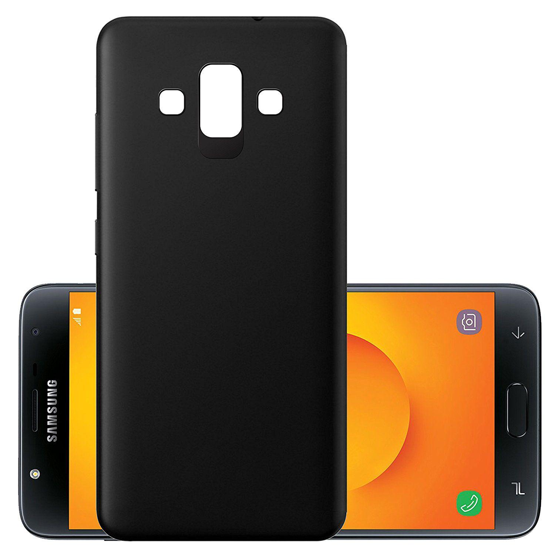 Samsung J7 Duo Plain Cases Tidel Black