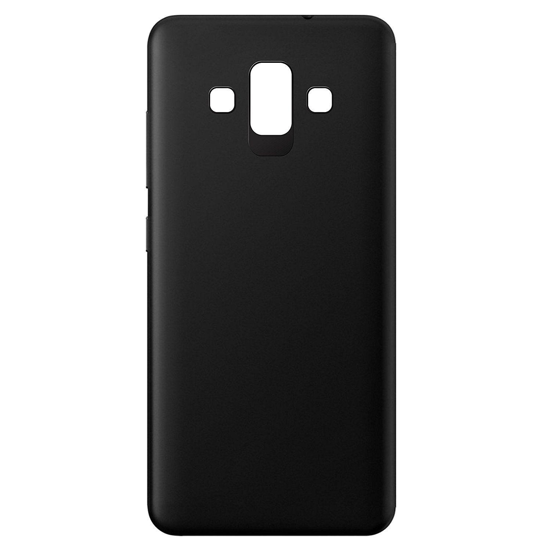 huge discount 076b6 35148 Samsung J7 Duo Plain Cases Tidel - Black