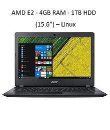 ACER A315-21-2109 (NX.GNVSI.005) - AMD E2-9000 7th Gen / 4GB RAM / 1TB HDD / INTEGRATED AMD RADEON R2 GRAPHICS / 15.6