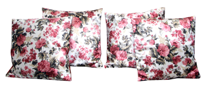 Kuber Industries Set of 4 Velvet Cushion Covers 40X40 cm (16X16)