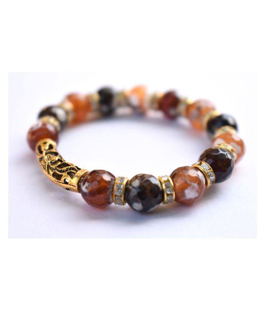 Designer Bracelets 2018 by Artisan Ornaments for Daily wear Girls/ Women Stone Glass Bracelet