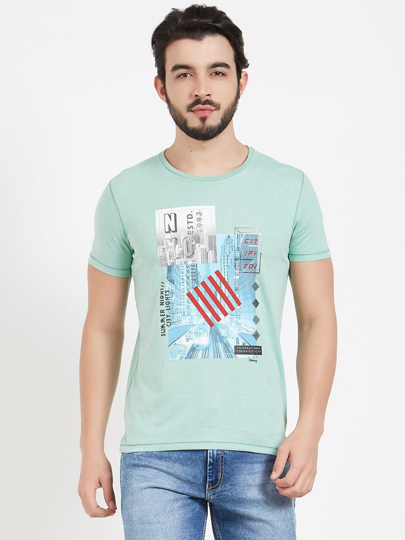 Fritzberg Green Round T-Shirt