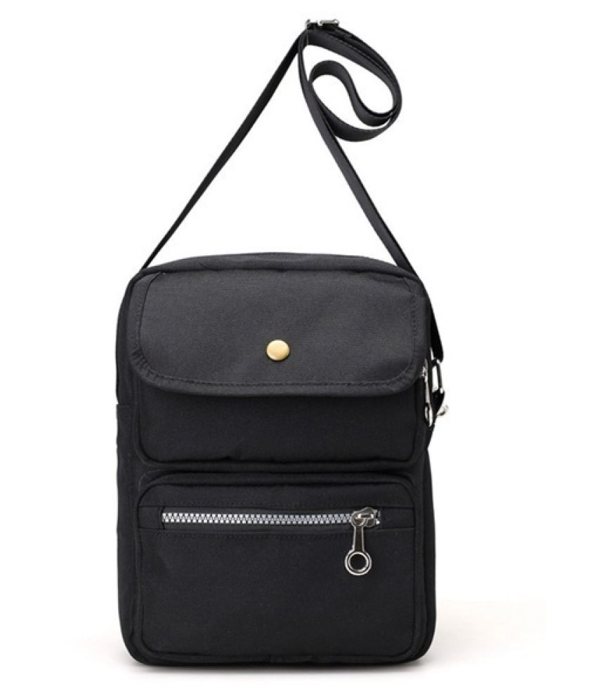 Guru Black Canvas Tote Bag