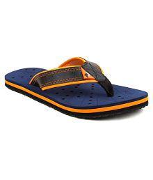 Fuel Men's Boys Summer Fashionable Home Navy Thong Flip Flop