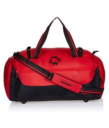 Wildcraft Red Polyester Casual Messenger Bag