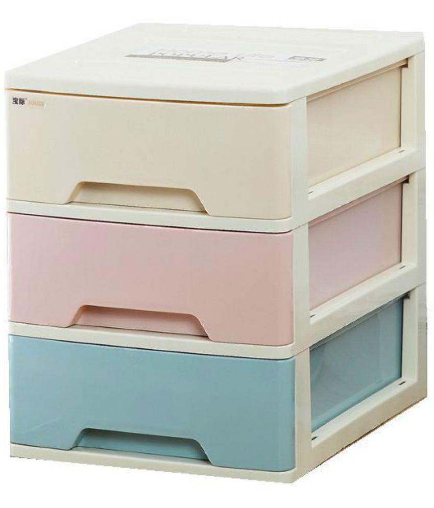1pc makeup organizer plastic storage box 3 layer drawers jewelry box rh snapdeal com