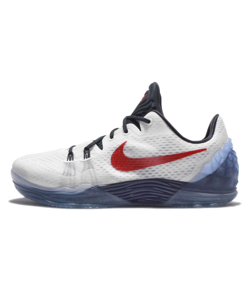 the best attitude 02536 a385c ... Nike Zoom Kobe Venomenon 5 EP Limit White Basketball Shoes ...