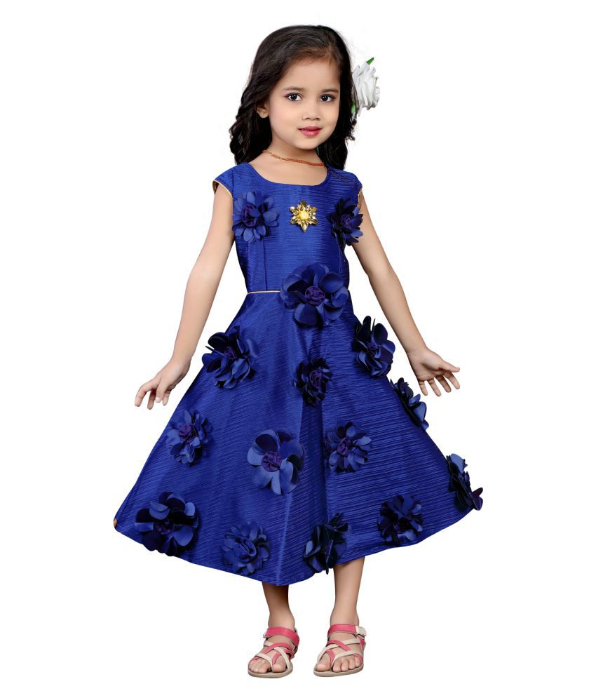 31bd30f521eeb White World Birthday Party Wear Silk Fabric Blue Color Frock Dress For Baby  Girls. - Buy White World Birthday Party Wear Silk Fabric Blue Color Frock  Dress ...