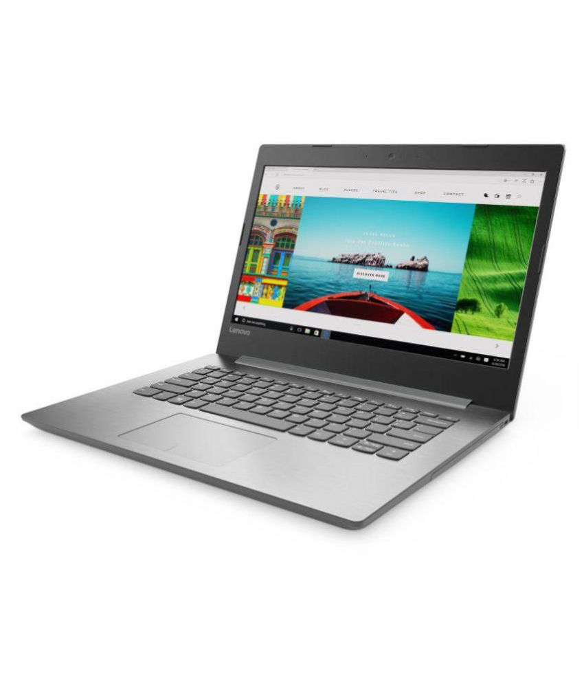Lenovo Ideapad 320E (80XU004UIN) (AMD E2 Quad Core/4 GB/500 GB HDD/14 (35.56 cm)/Windows 10) (Platinum Grey)