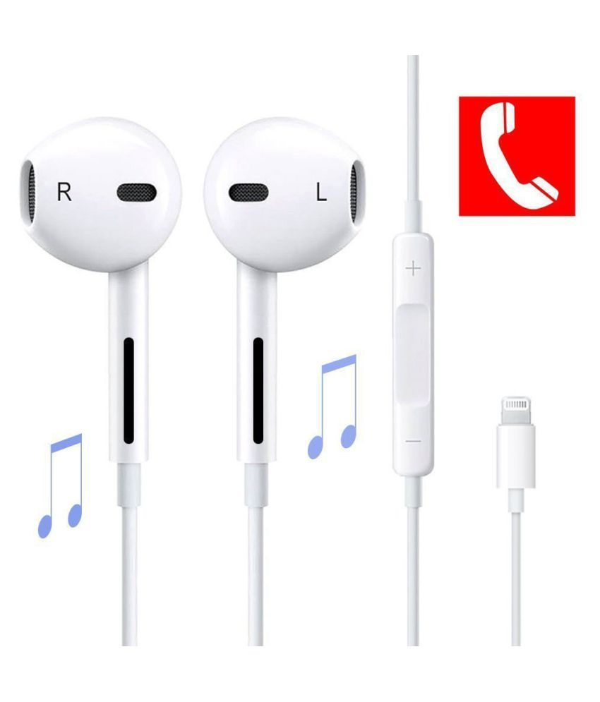 Meckwell Apple Iphone 6s Plus 128gb Compatible Ear Buds Wired Earphones With Mic Buy Meckwell Apple Iphone 6s Plus 128gb Compatible Ear Buds Wired Earphones With Mic Online At Best Prices
