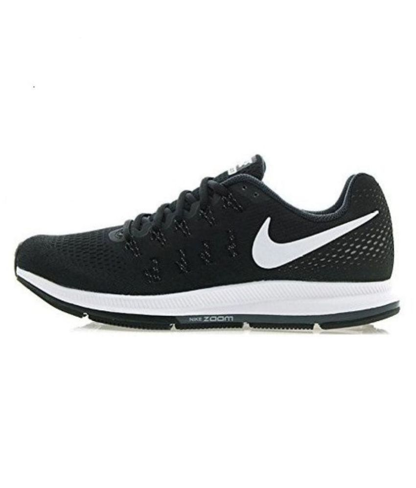 2c48bf8362d6 Nike zoom pegasus 33 Black Running Shoes - Buy Nike zoom pegasus 33 Black  Running Shoes Online at Best Prices in India on Snapdeal