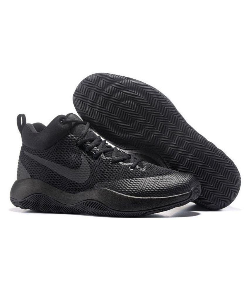 online store 67de6 92c6c Nike Zoom Hyper Rev Black Running Shoes - Buy Nike Zoom Hyper Rev Black  Running Shoes Online at Best Prices in India on Snapdeal