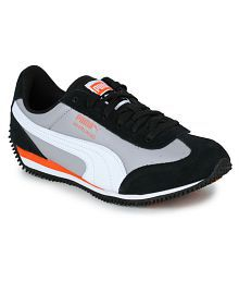 Puma Gray Running Shoes