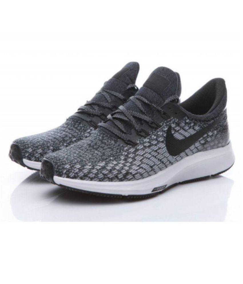 3c1230b743 Nike AIR ZOOM PEGASUS 35 Black Running Shoes - Buy Nike AIR ZOOM ...