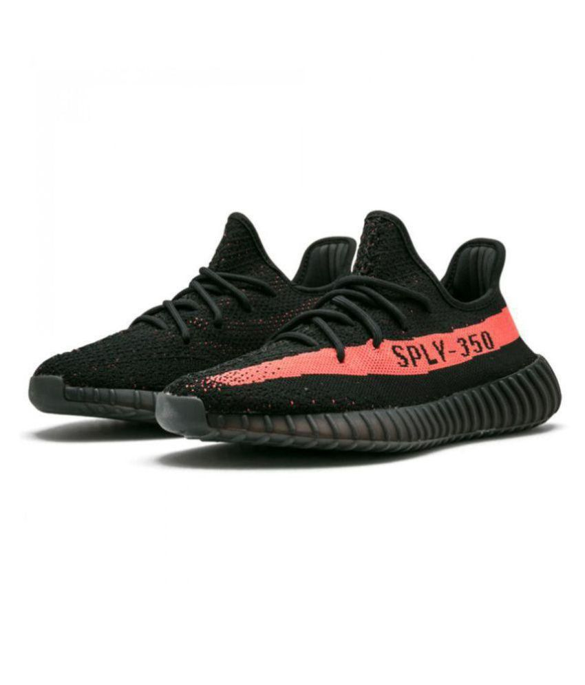 buy popular e0967 16ecd Adidas Adidas Yeezy Sply 350 Black Running Shoes