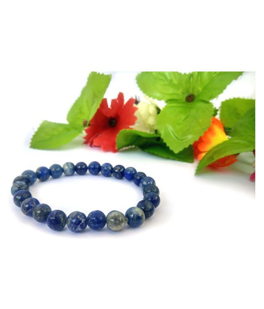 Natural Lapis Lazuli Gemstone Bracelet for Men and women