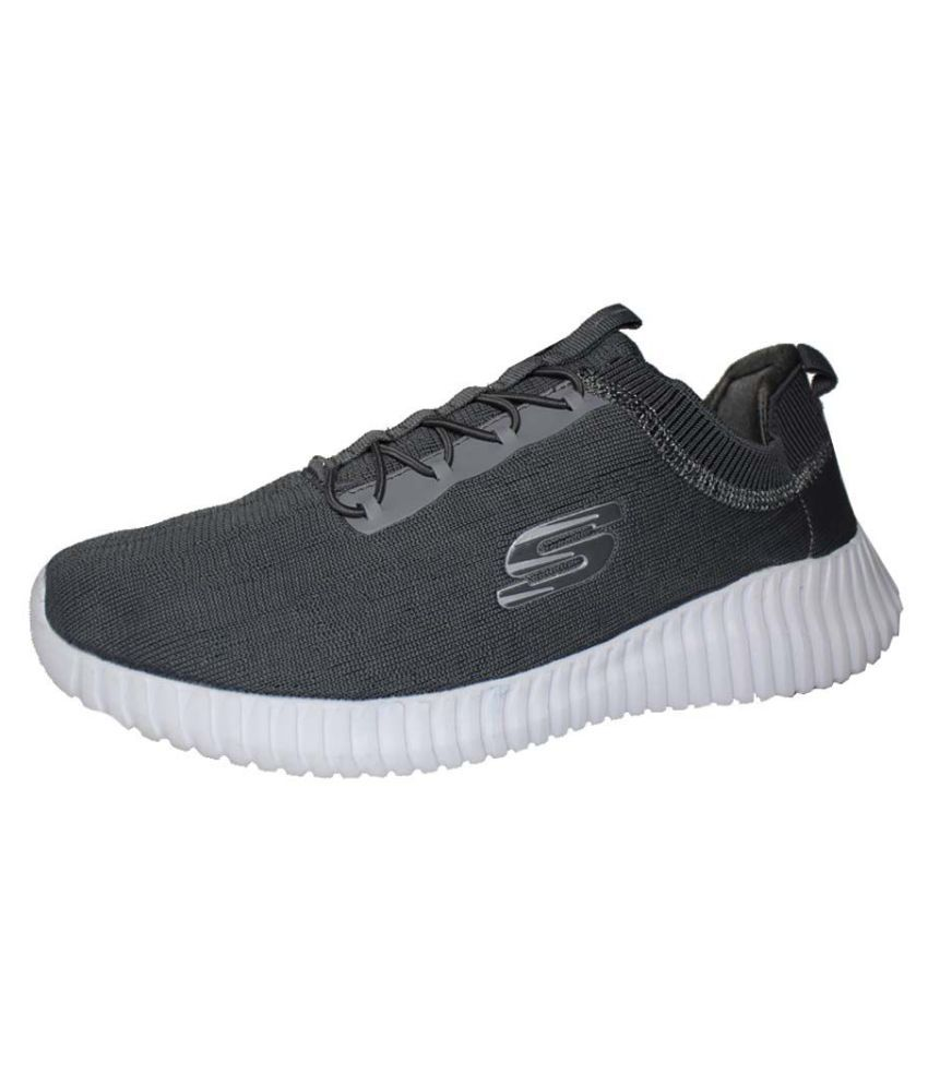 4949926142ca SKECHERS PERFORMANCE S6 Gray Running Shoes - Buy SKECHERS PERFORMANCE S6  Gray Running Shoes Online at Best Prices in India on Snapdeal
