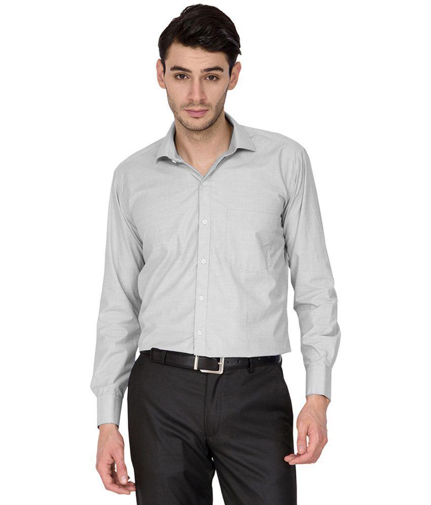 DENNISON Blue Slim Fit Shirt Single