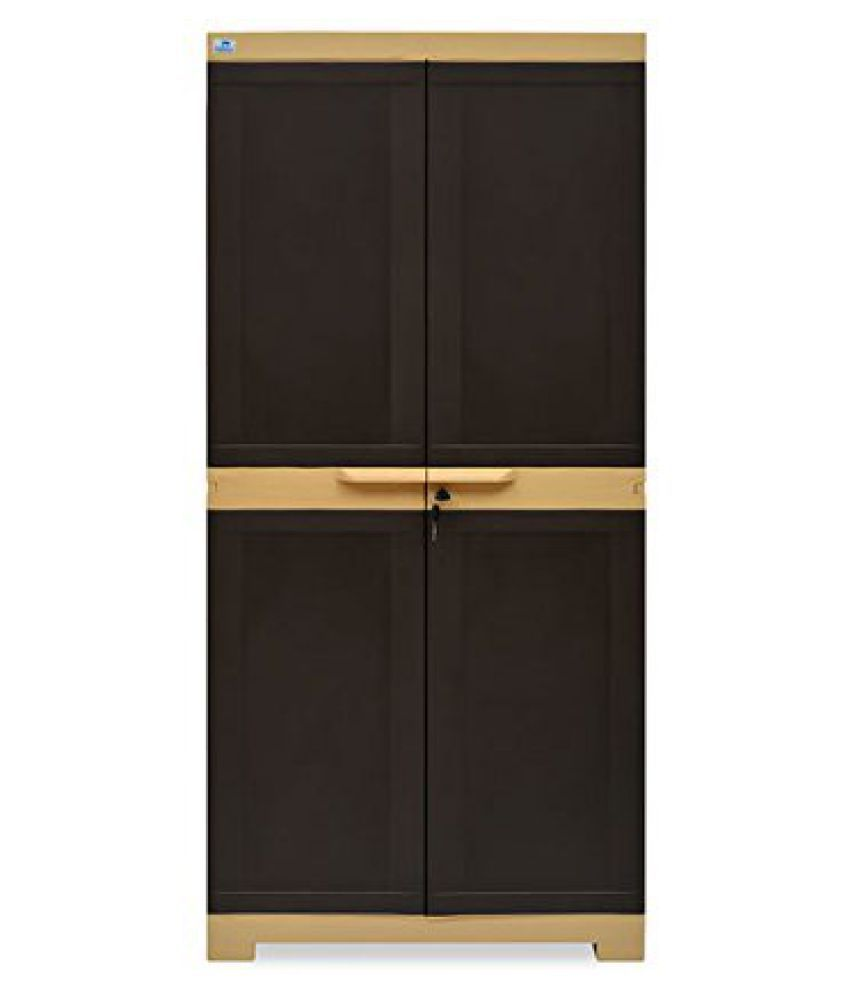 e458a4d2387 NILKAMAL FREEDOM MINI MEDIUM PLASTIC CABINET ALMIRAH WARDROBE CUPBOARD PLASTIC  ALMIRAH  Buy Online at Best Price in India on Snapdeal