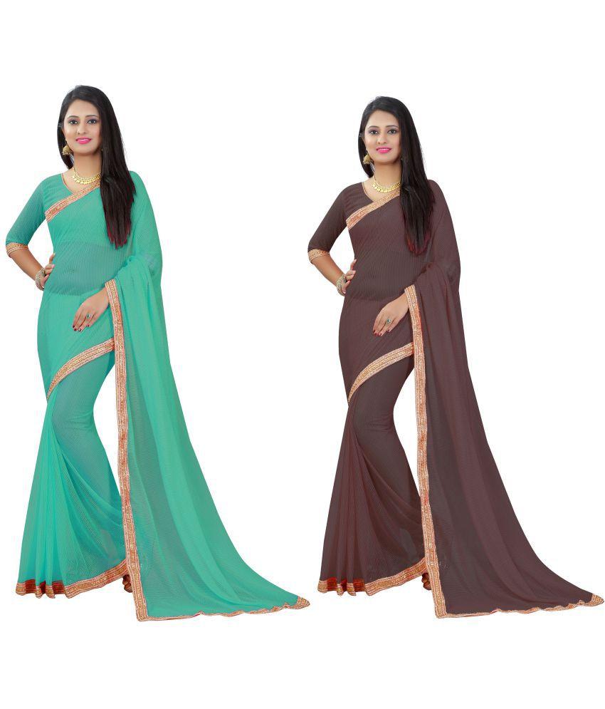 STYLEELITE Multicoloured Matka Silk Saree Combos