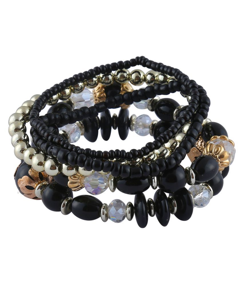 HoneyComb Layered Statement Bracelet