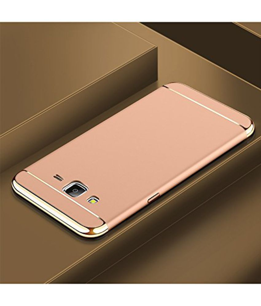 Samsung Galaxy J3 Hybrid Covers Dr2S Fashion Retail - Golden
