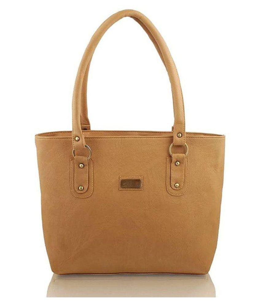 Parrk Tan P.U. Shoulder Bag