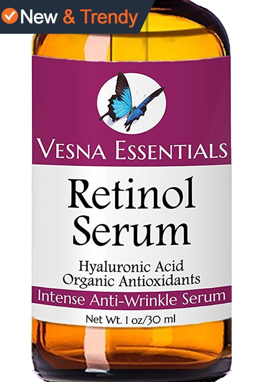 VE Retinol Serum for Face - Retinol Anti Aging Moisturizer Serum for