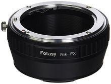 Fotasy Lens Mount Adapter - Nikon Lens to Fujifilm X-Series Mirrorless Camera Adapter