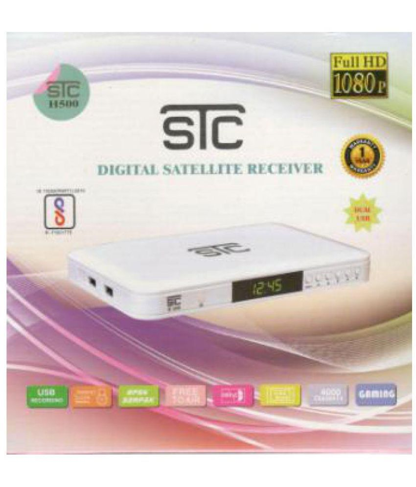 Buy STC Digital Satellite Receiver HD Set Top Box H-500 Online at