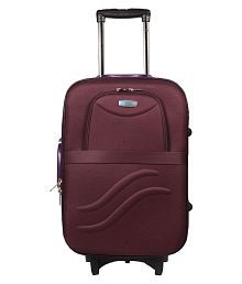 Vidhi Purple M( Between 61cm-69cm) Check-in VIDHI PURPLE TROLLEY BAG 24