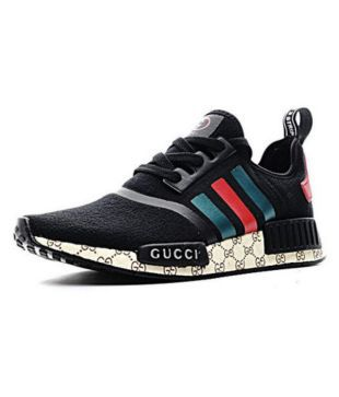 28e48fc3007ef3 Adidas NMD GUCCI Black Running Shoes - Buy Adidas NMD GUCCI Black Running  Shoes Online at Best Prices in India on Snapdeal