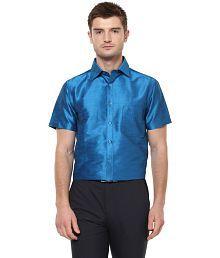 Khoday Williams Blue Regular Fit Party wear Shirt