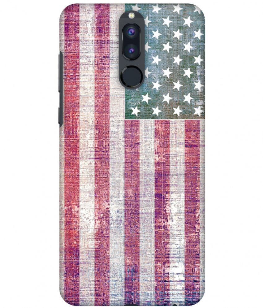 Huawei Honor 9i Printed Cover By Amzer