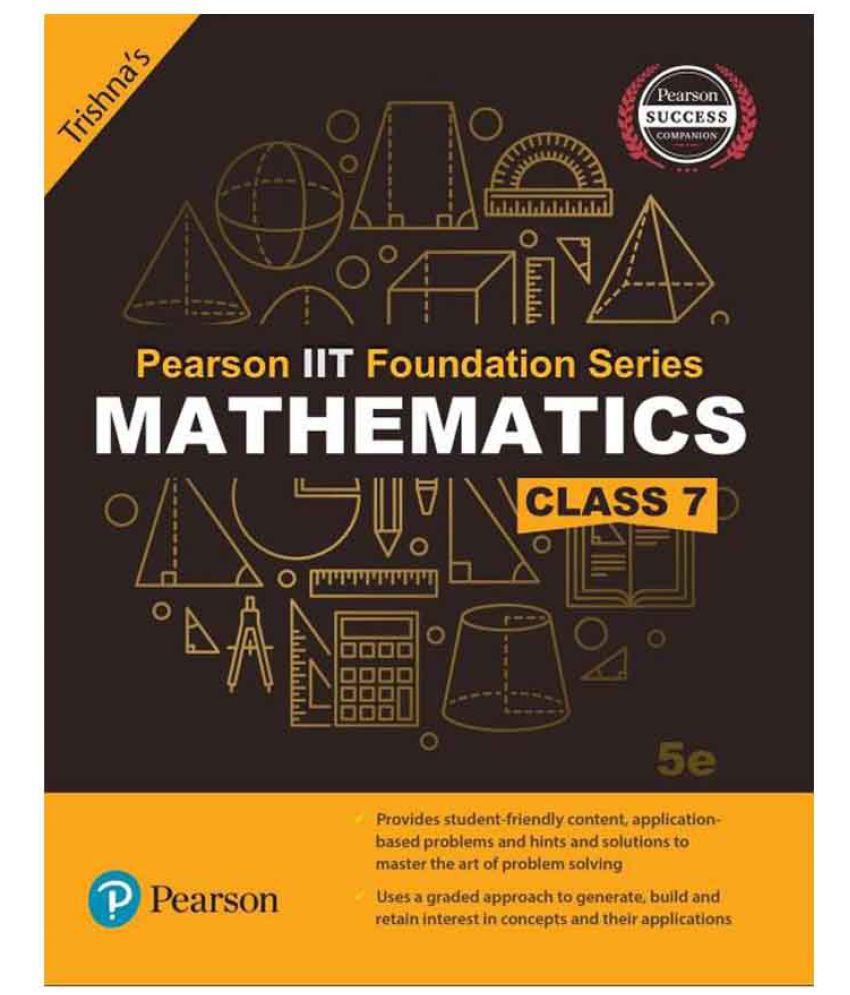 Pearson IIT Foundation Mathematics Class 7 (Paperback