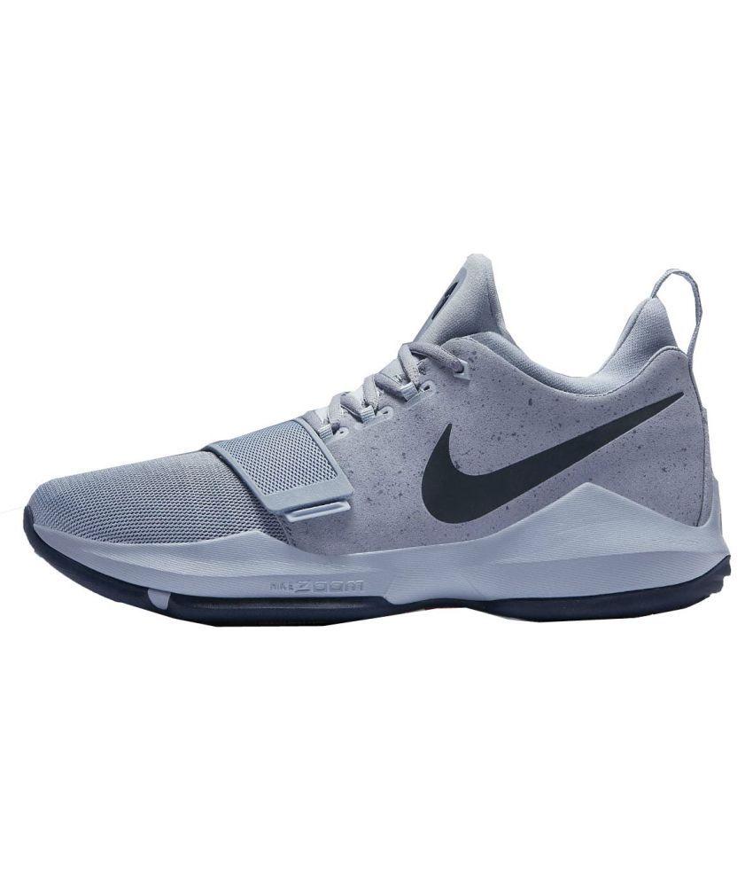 16eaf5ba8ae8e Nike Pg 1 Paul Grey Running Shoes - Buy Nike Pg 1 Paul Grey Running ...