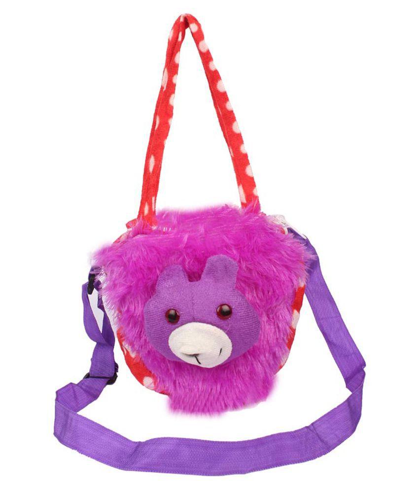 Aliado Purple Fabric Sling Bag