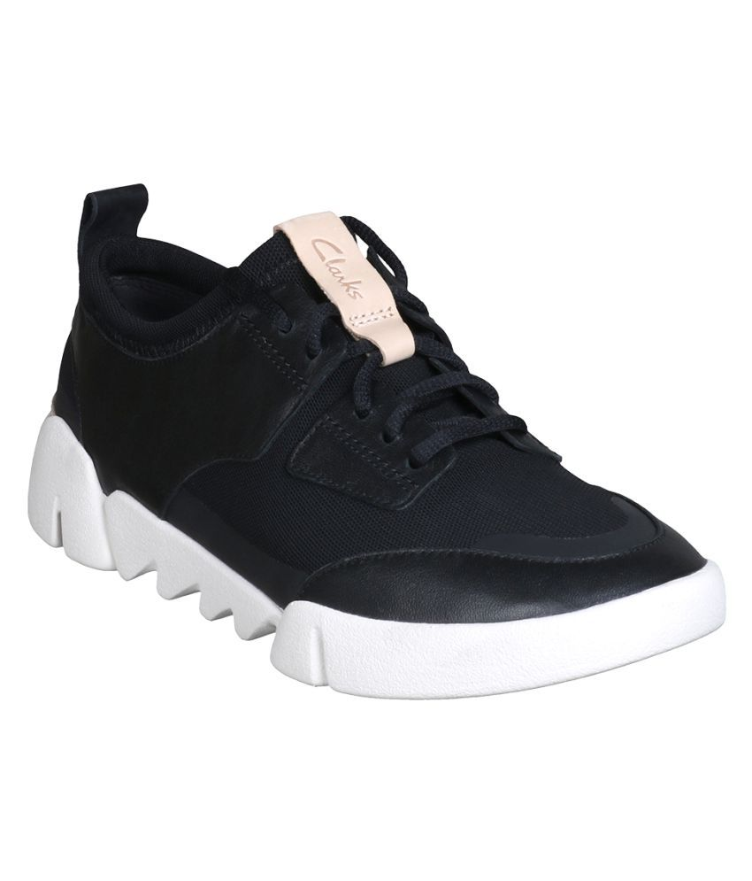 Clarks Black Casual Shoes