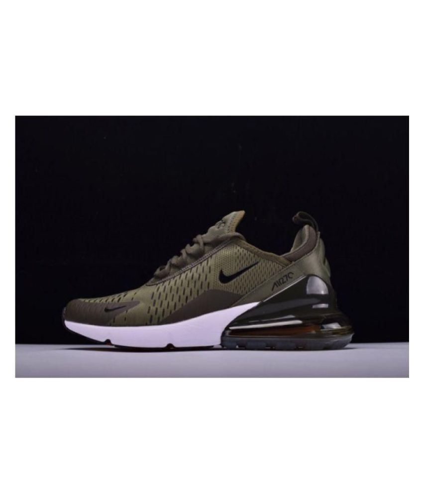 buy online ae36e 9ddff Nike AIR 27 C Green Running Shoes