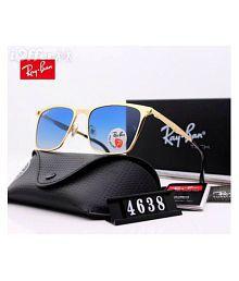 Ray Ban Sunglasses Golden Aviator Sunglasses ( rb 3025-56-14 )