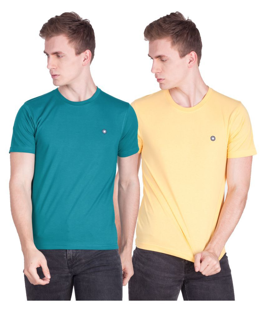 Force Go Wear Multi Round T-Shirt Pack of 2