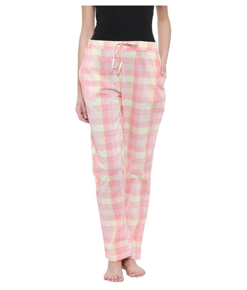 83cb41f7d11e Buy MP BASICS Cotton Pajamas - Yellow Online at Best Prices in India -  Snapdeal