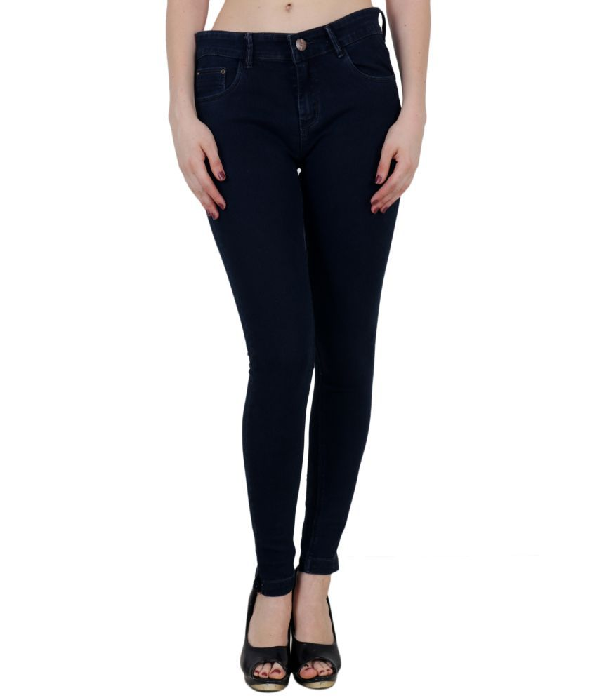 King Size Cotton Jeans - Blue